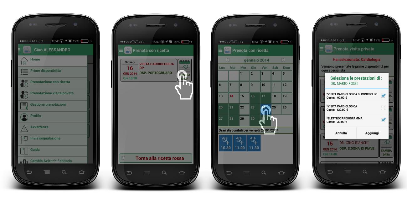 Esempio di installazione su dispositivo Android