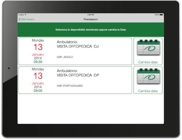 Esempio di installazione su dispositivo iPad